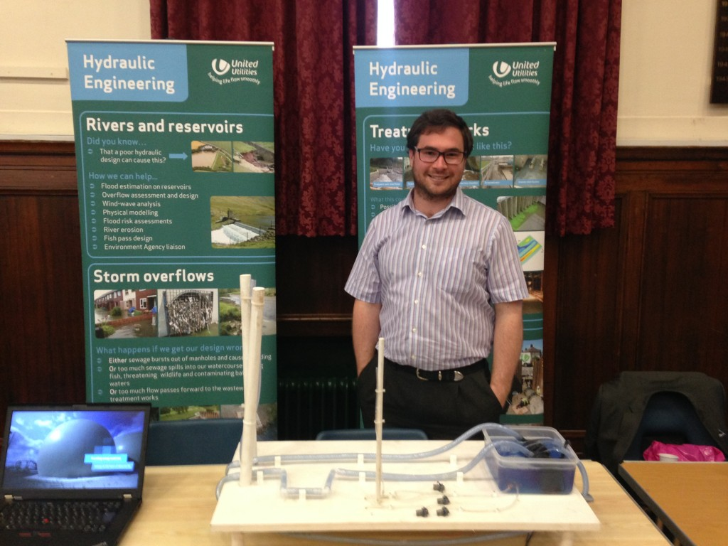 Me and the rig ready for a careers fair